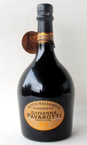 PAVAROTTI:  500ml.PGI Balsamic Vinegar of Modena Bronze