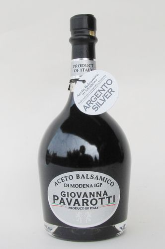 PAVAROTTI: 250ml. Balsamic Vinegar of Modena Silber