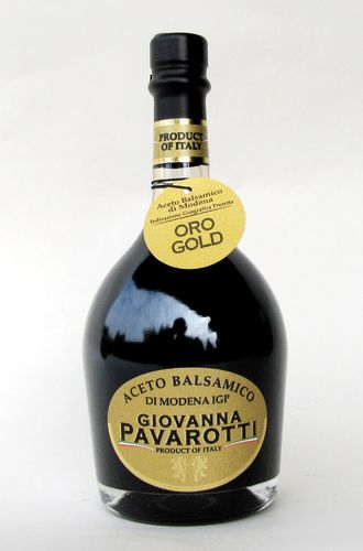 PAVAROTTI: 250ml. PGI Balsamic Vinegar of Modena Gold