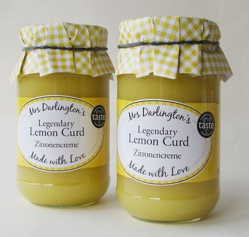 Mrs. DARLINGTON'S: 2 x 320g = 640g Lemon Curd